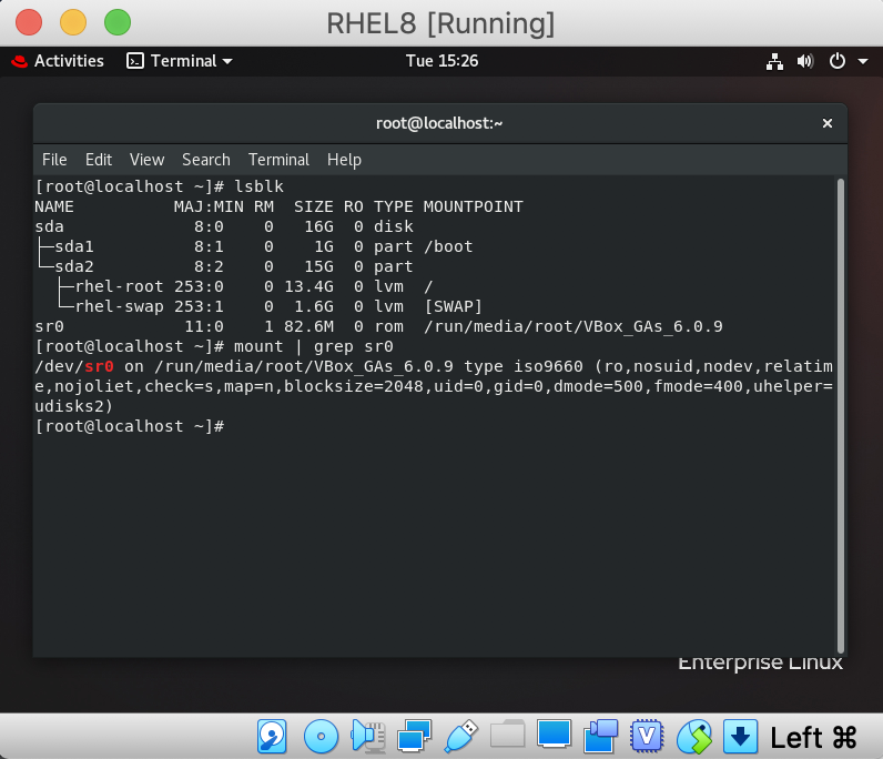 Red Hat Enterprise Linux 8 on VirtualBox | Linux Support in
